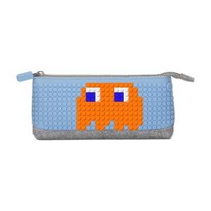 Pixelový penál, grey/blue