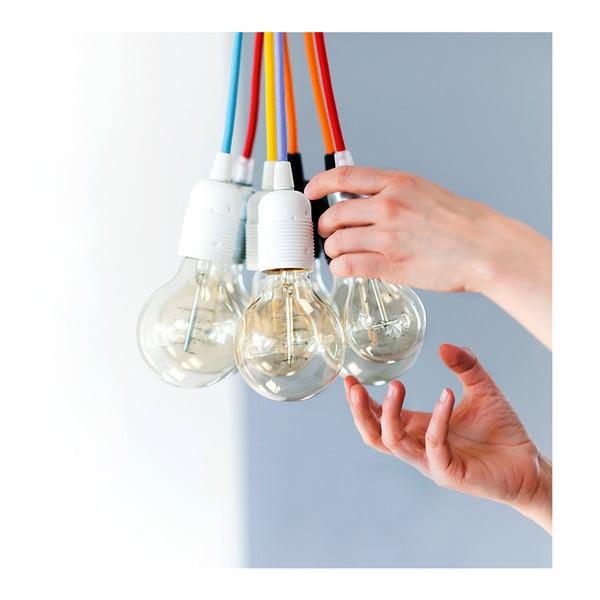 Trojice závěsných kabelů Uno, modrá/bílá