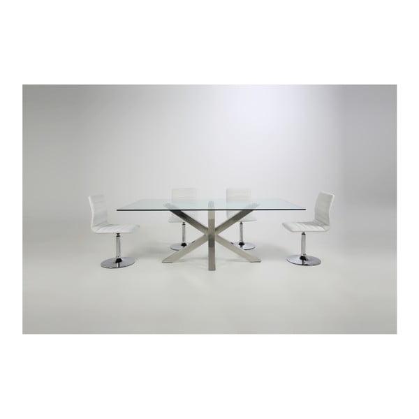 Set 2 scaune Actona Piper Dining Set, alb