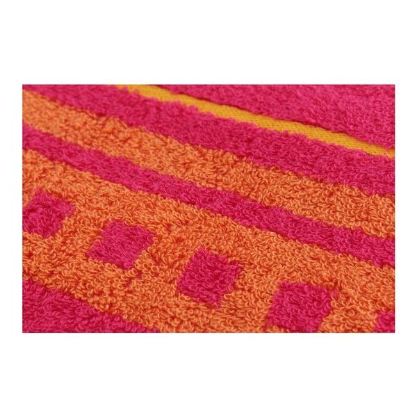 Set 2 osušek Pinky, 70x140 cm