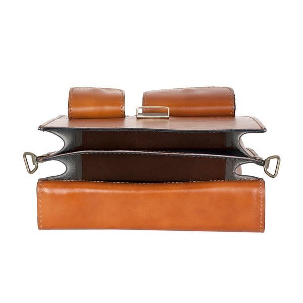 Kožená taška Ore Diece Urbino, medová
