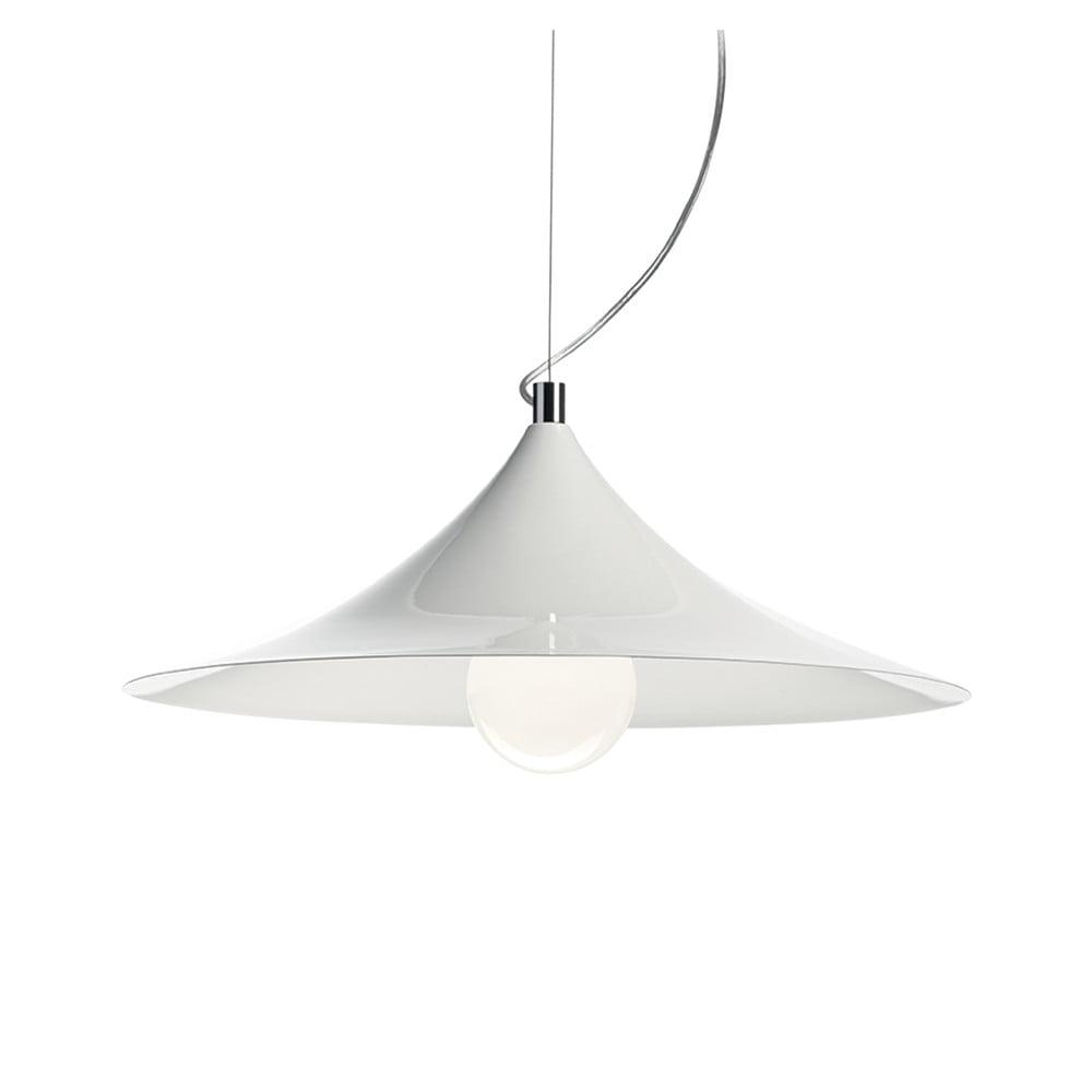 Bílé závěsné svítidlo Evergreen Lights Lamp