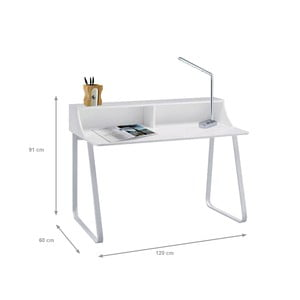 Bílý pracovní stůl Evergreen House Solly