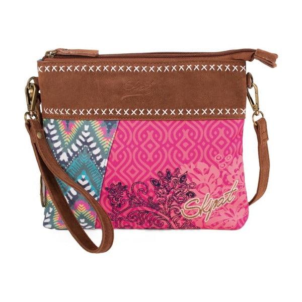 Pestrobarevná kabelka SKPA-T, 25 x 20 cm