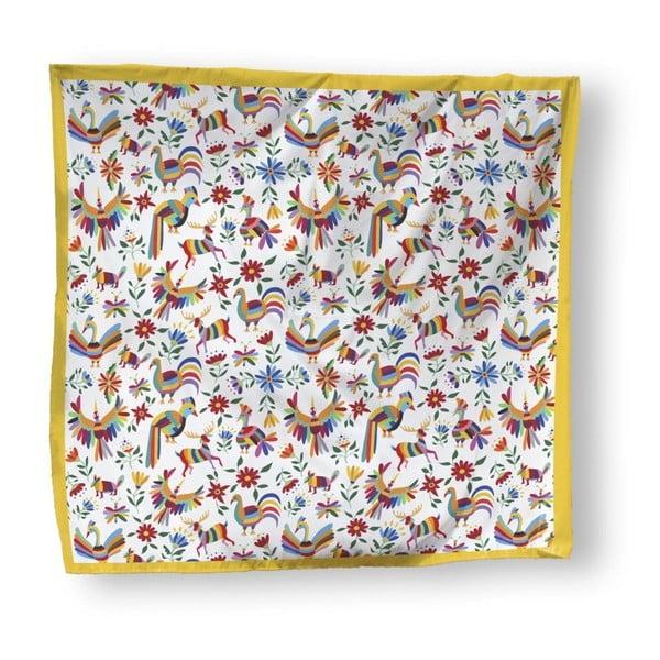 Přehoz přes postel Madre Selva Animals Otomi, 170 x 240 cm