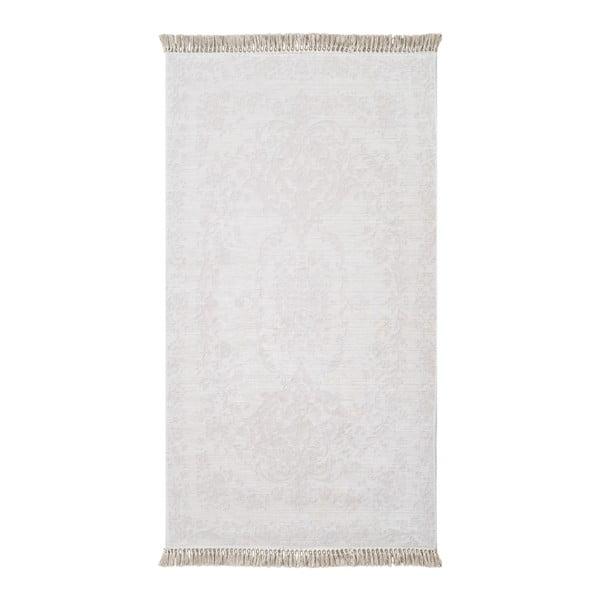 Krémový koberec Vitaus Hali Gobekli, 80x150cm