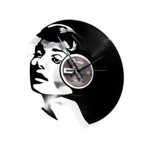 Vinylové hodiny Audrey
