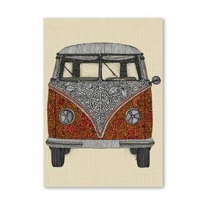 Autorský plakát The Van od Valentiny Ramos