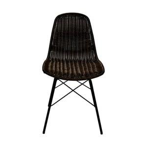 Set 2 jídelních židlí ze syntetického ratanu RGE Kummin