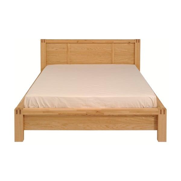 Dvoulůžková postel z dubového dřeva Artemob Ethan, 180x200cm