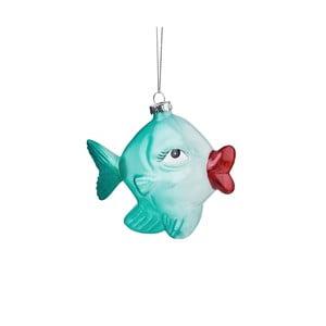 Vánoční závěsná ozdoba ze skla Butlers Ryba se rty