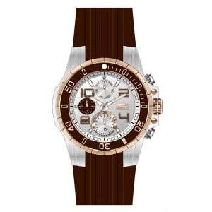 Pánské hodinky Slazenger Brown-White