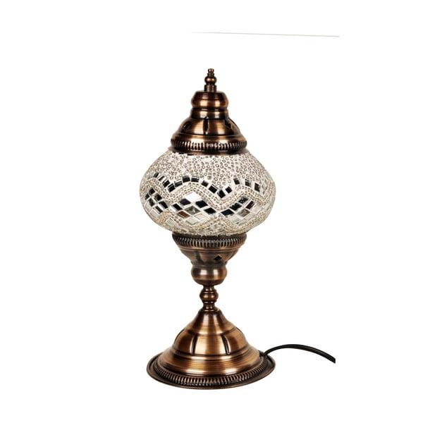 Skleněná ručně vyrobená lampa Dianthe, ⌀13cm
