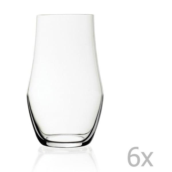 Zestaw 6 szklanek RCR Cristalleria Italiana Bolzano, 496 ml