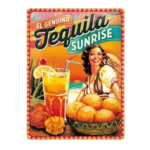 Cedule Tequila, 30x40 cm