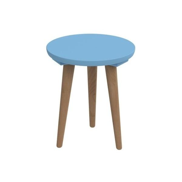 Modrý stůl D2 Bergen, 30 cm