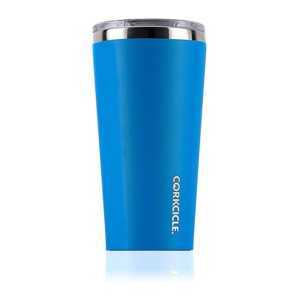 Modrý cestovní termohrnek Corkcicle Tumbler Hawaiian, 473 ml