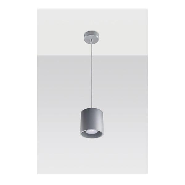 Šedé závěsné světlo Nice Lamps Roda