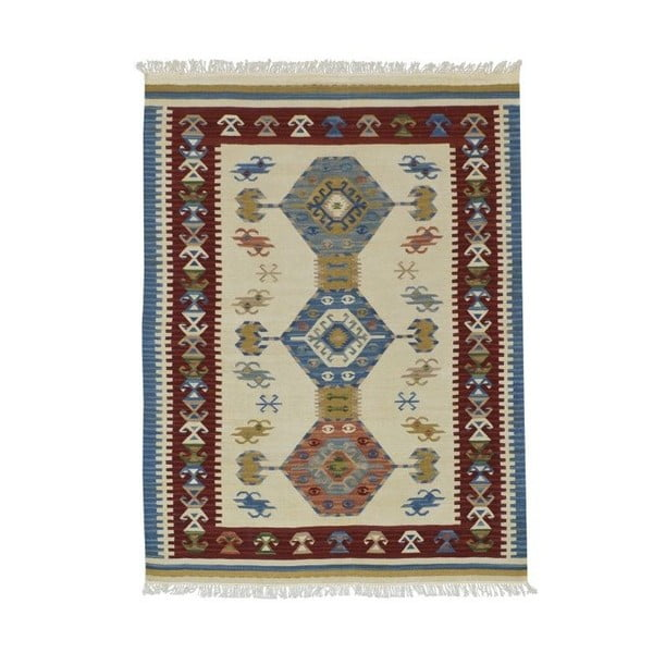 Ručně tkaný koberec Bakero Kilim Classic AK05 Mix, 125x185cm