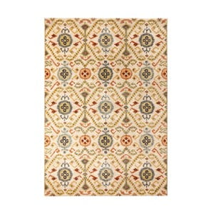 Covor Mint Rugs Diamond Ornament, 133 x 195 cm, bej