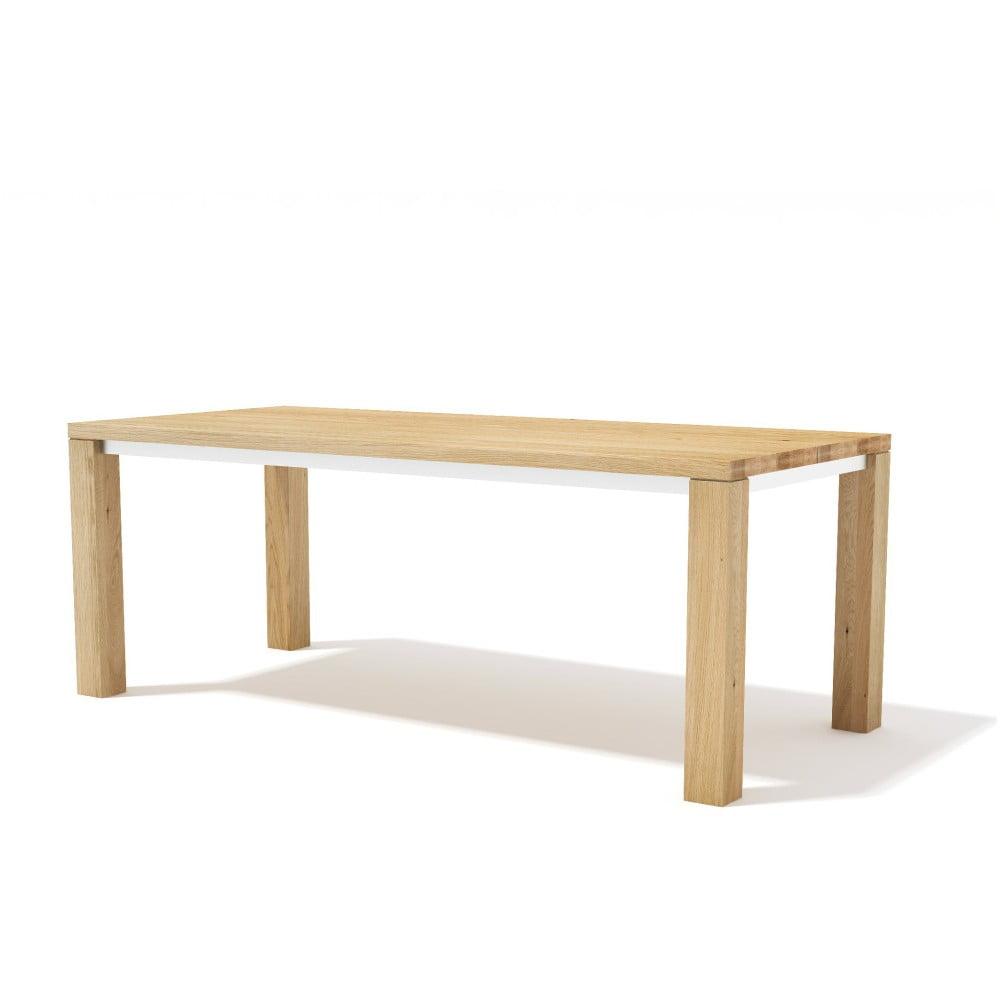 Jídelní stůl z masivního dubového dřeva Javorina Next, 200cm