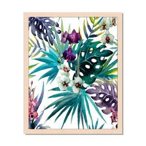 Obraz v rámu Liv Corday Provence Floral Combo, 40x50cm