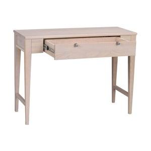 Matně lakovaný dubový konzolový stolek  Folke Fulla