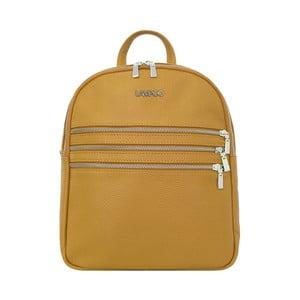 Hnědý kožený batoh Lampoo Gurda