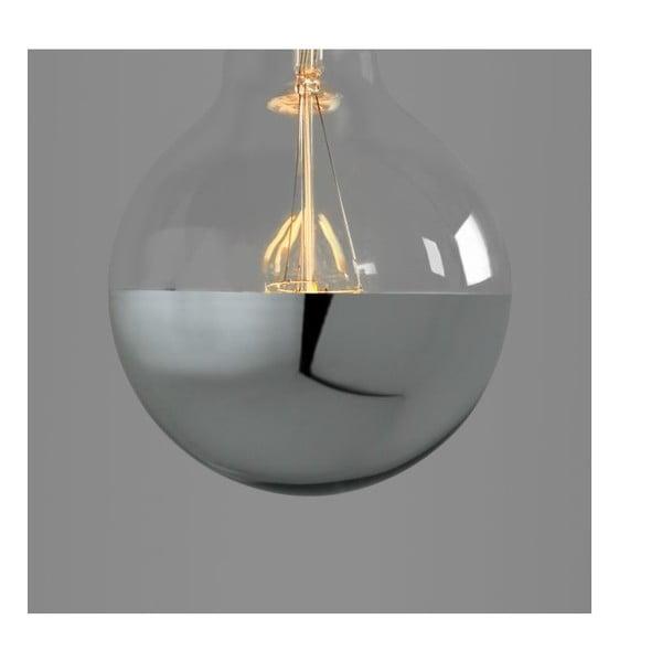 Žárovka Small Globe Led Silver Edison E28