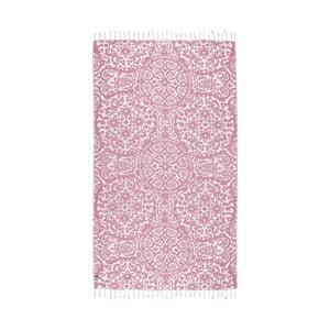 Prosop baie hammam Kate Louise Camelia, 165 x 100 cm, roz
