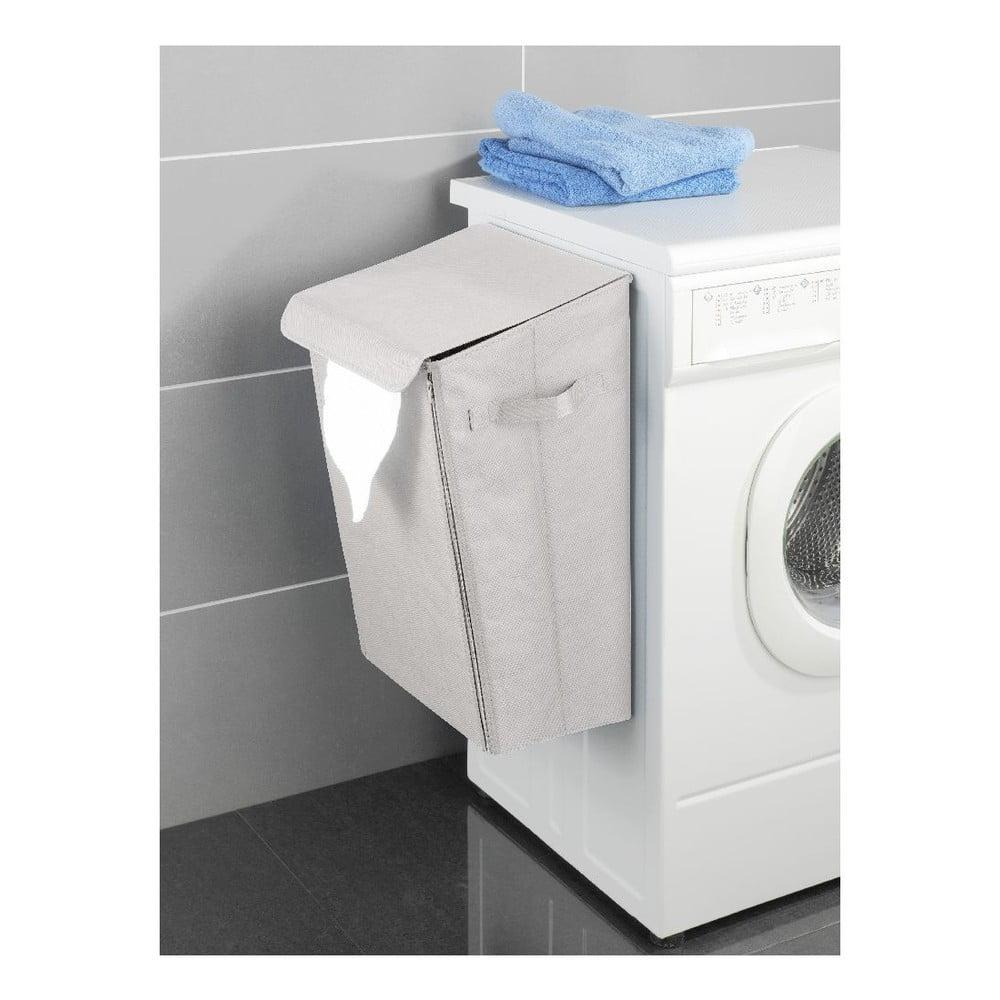 Béžový závěsný koš na prádlo Wenko Turbo-Loc, 46,3 l