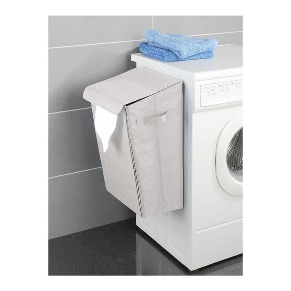 Béžový závěsný koš na prádlo Wenko Turbo-Loc