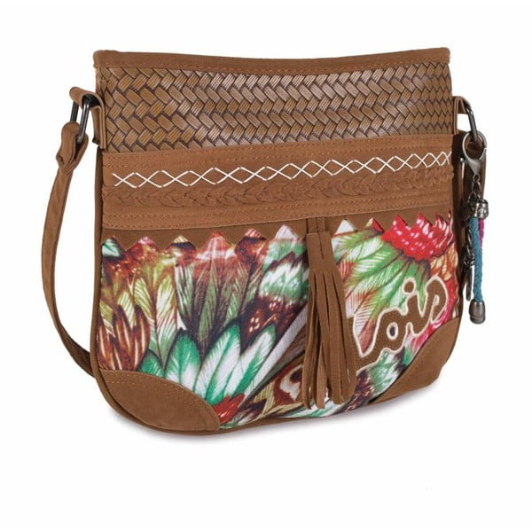 Barevná kabelka Lois, 26 x 25 cm