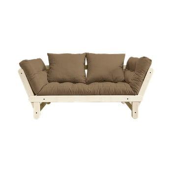 Canapea extensibilă Karup Design Beat Natural/Mocca de la Karup Design