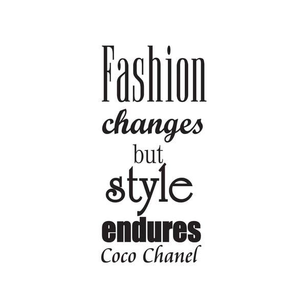 Dekorativní nástěnná samolepka Fashion
