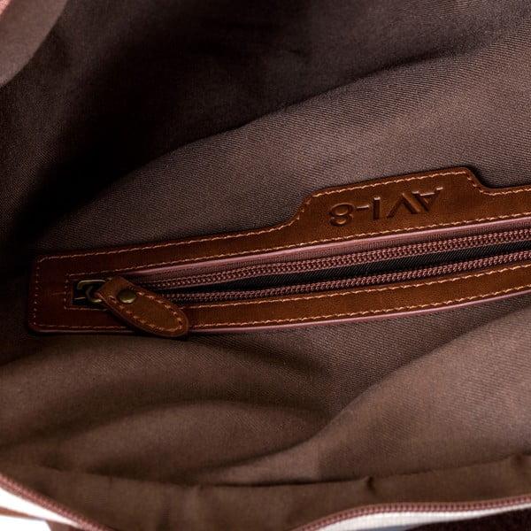 Taška přes rameno Avi-8, hnědá