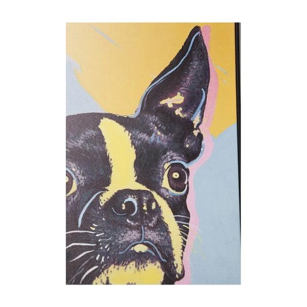 Tablou de perete Kare Design Monsieur Toto, 102 x 72 cm