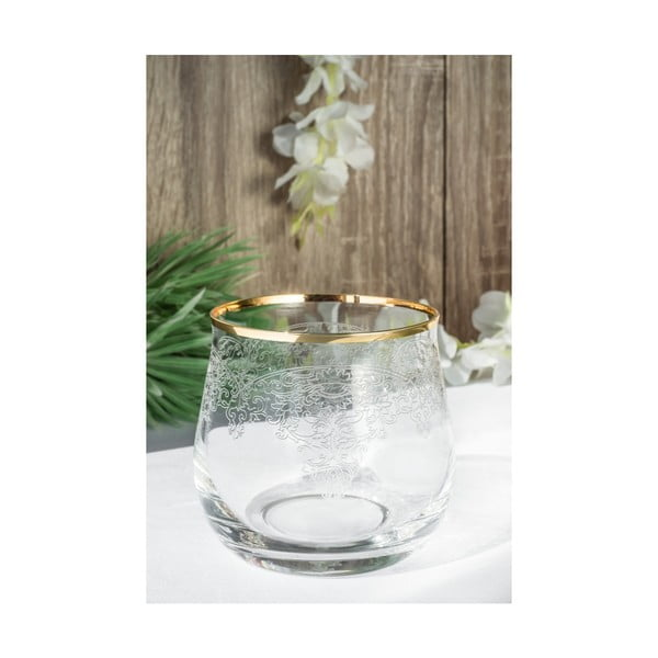 Sada 6 skleněných skleniček Iasimos