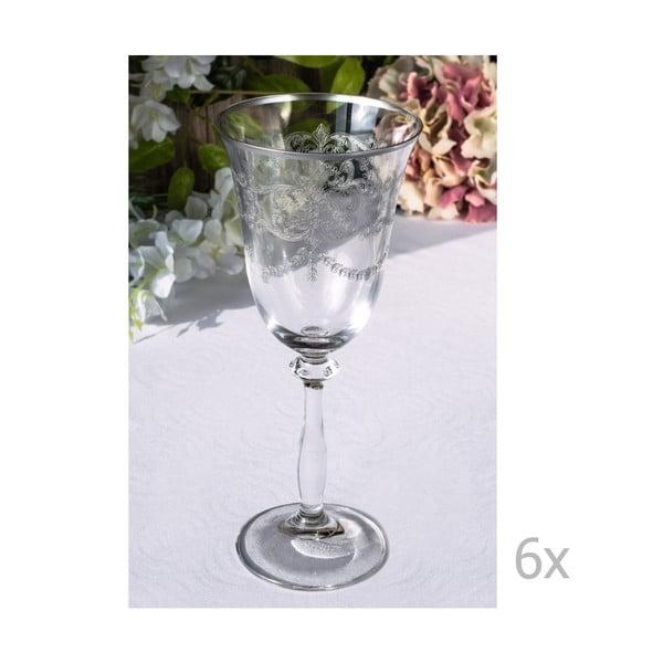 Zestaw 6 szklanek Meletios, 250 ml