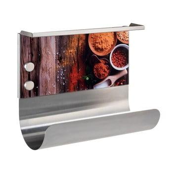 Suport magnetic pentru prosoape de bucătărie cu raft Wenko Spices de la Wenko