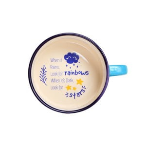 Polévkový hrnek Silly Design Rainbows & Stars, 330ml