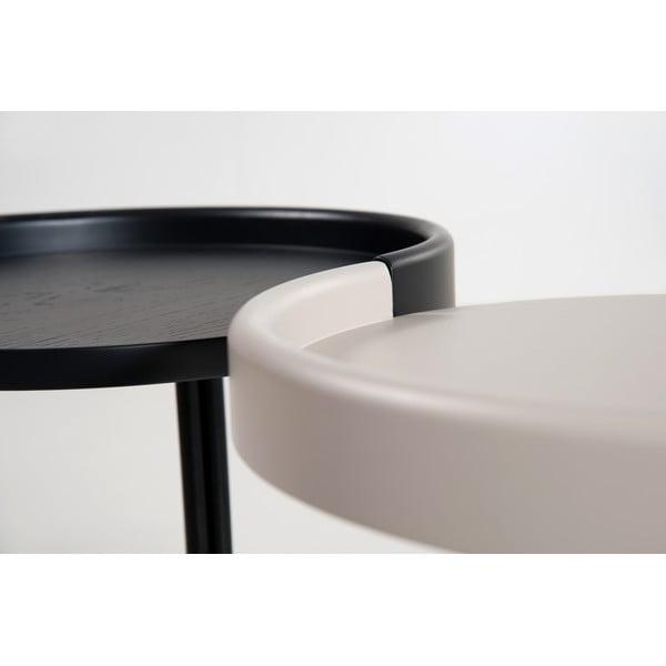 Odkládací stolek E-klipse AL2, bílý
