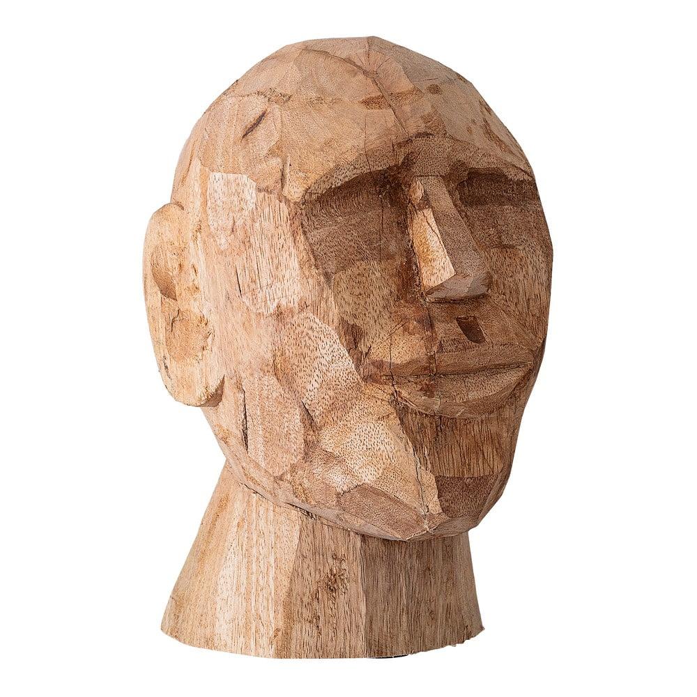 Dekorace zmangového dřeva Bloomingville Head