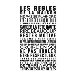 Samolepka Ambiance French Text