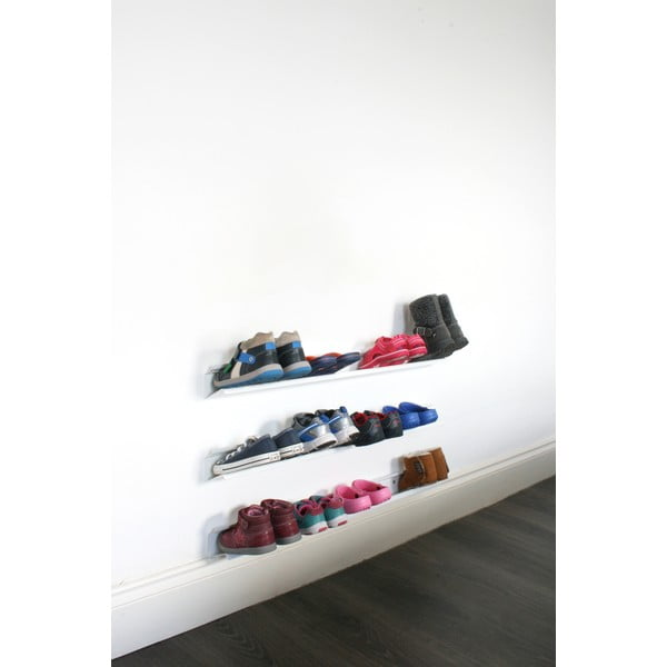 Bílá police na boty J-Me Kids, 70 cm