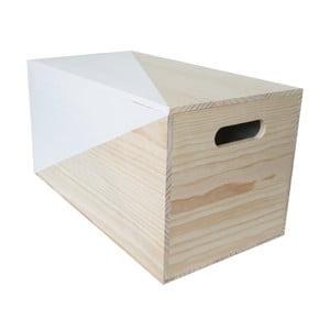 Box Nordic Azul, 52x27x27 cm