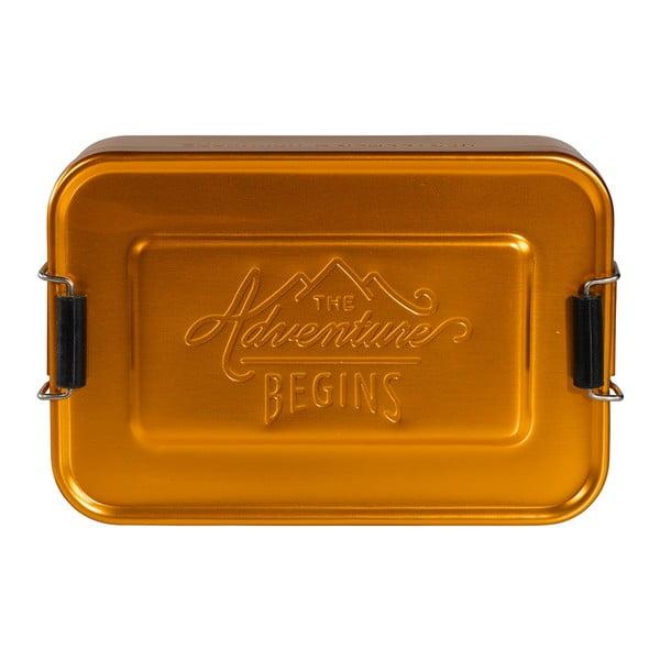 Cutie pentru gustare Gentlemen's Hardware Gold Tin