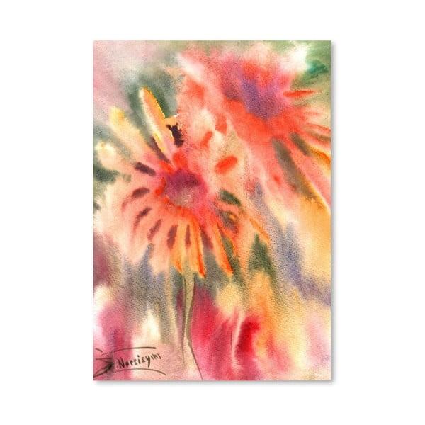 Plakát Abstract Flowers od Suren Nersisyan