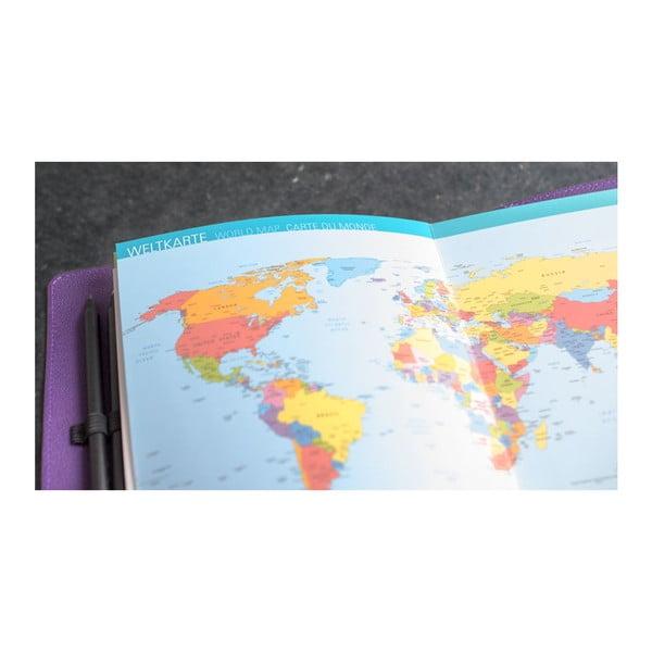 Cestovatelský deník na zážitky a suvenýry Remember ZigZag, 42 stran