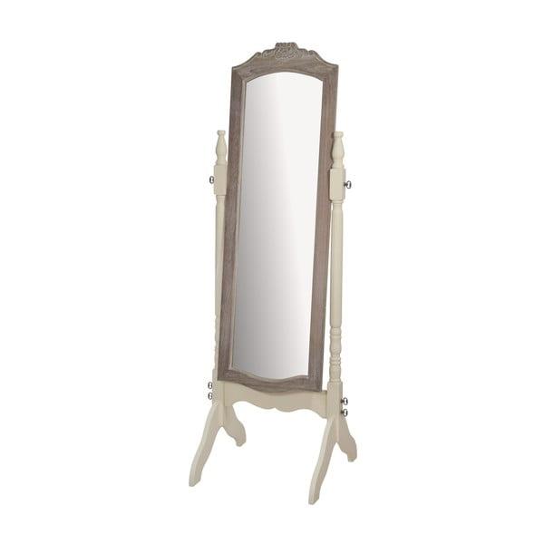 Volně stojící zrcadlo z topolového dřeva Livin Hill Savona